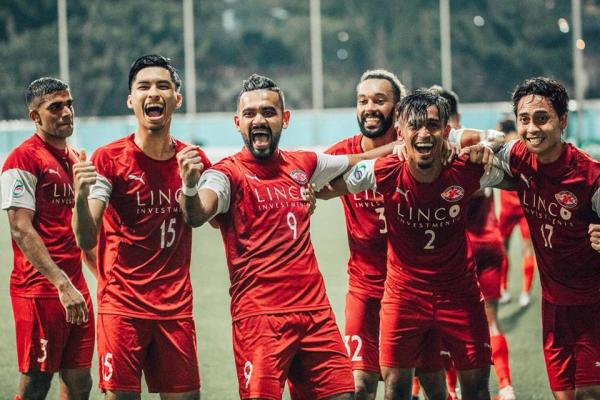 Singapore Club finally win a trophy