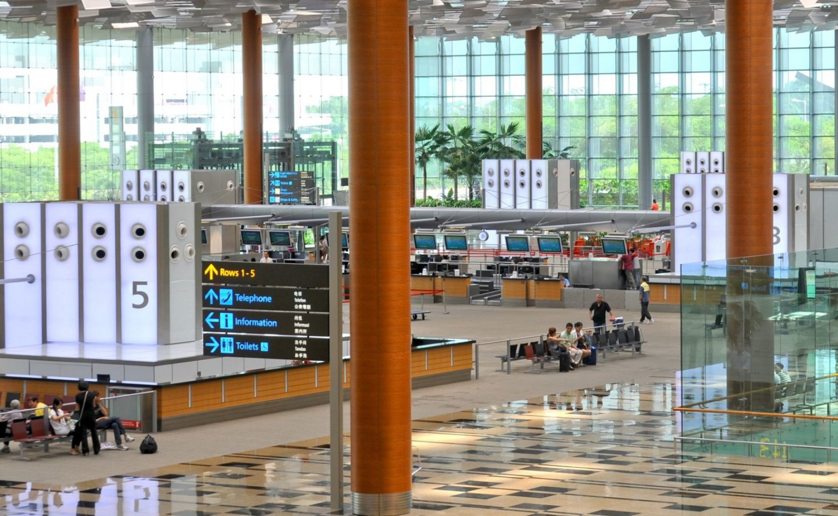 Singapore, Changi Airport, Jewel