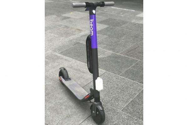 Beam got funding to crowd SG sidewalks, bringing in e-scooters
