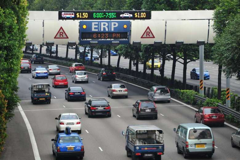 ERP rates increase again at two gantries in KPE and CTE