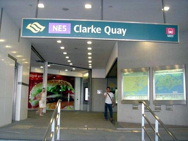 Man arrested for false bomb threat at Clarke Quay MRT
