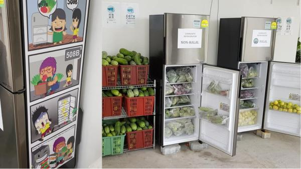 Making Yishun great again, 2 community fridges placed there