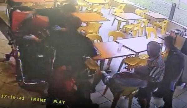 Elderly man punched in dispute at coffee shop, subsequent died