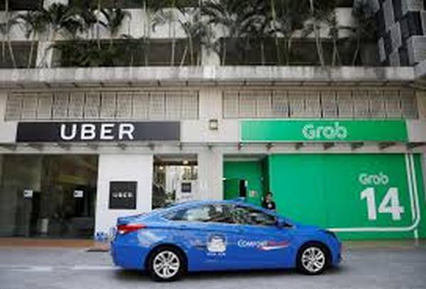 Grab and Uber fined a total of $13m by Singapore authorities