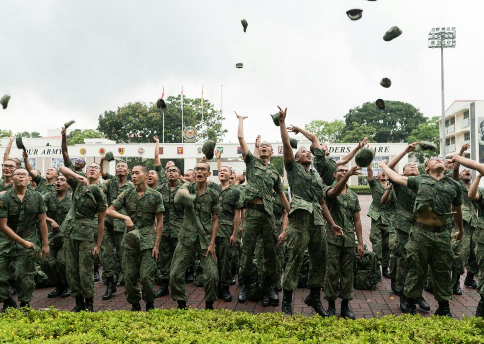 Singapore, soldier, army, military, capability, academic performance, leader