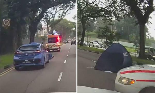 61 year old man died in Upper Thomson Road accident
