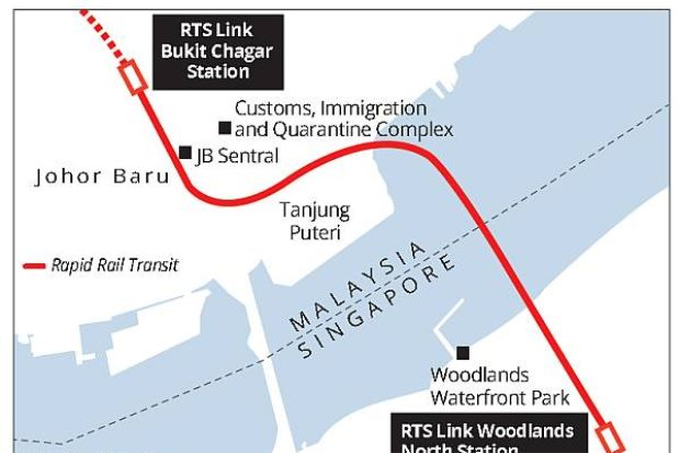 Malaysia requests to suspend RTS Link from Johor to Woodlands again