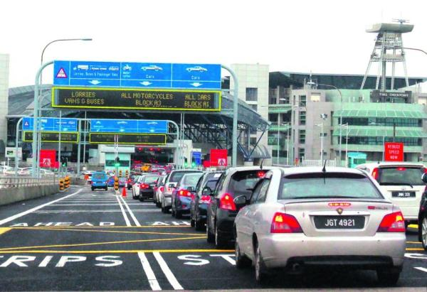 Biker dies in accident at Woodlands Checkpoint